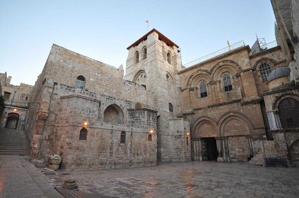 Vista de la iglesia de Jerusalén